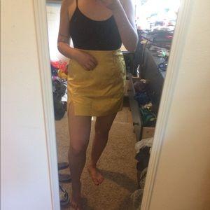 Beautiful Urban Outfitters Silk Mini Skirt